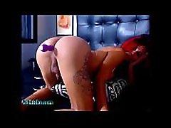 Big tits redhead latina shemale