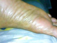 Friends Mother in law sleeping feet pt.2
