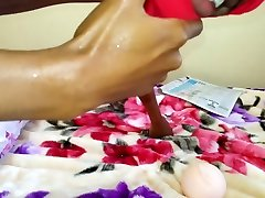 Toy Pussy Gets Fucked By Big Black Cock For A room mms sex Fan