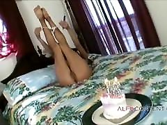 Double sexy kinar threesome for 18th birthday