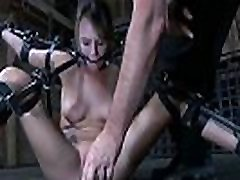 Angel is getting extreme torturing for her charming feet