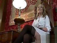 Bound Wired Maid Fucked By Lesbians