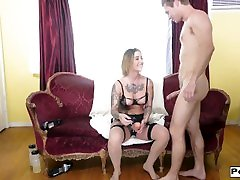 Kleio Valentien Sensual fisting and butthole destruction with strapon