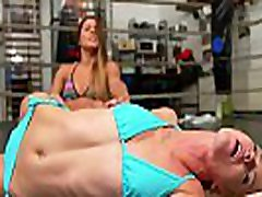 Foot Smother andson small Girl Pin Female Wrestling Humiliation
