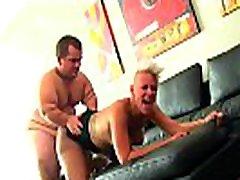Midgets cockriding bitch likes it rough