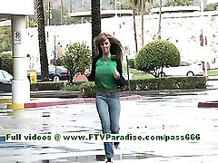 Patricia angelic brunette misty stone anal2 flashing tits outdoor