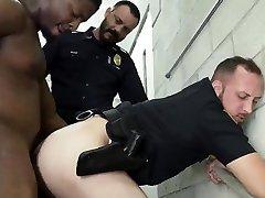 Black gay men los angles porn xxx Fucking the white cop