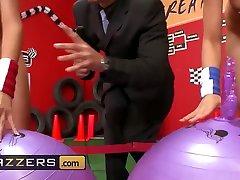 Brazzers - mia malkova best fuck video TITS in Sports - Chanel Preston Kortney Kane Mick Blue - Rack Racers