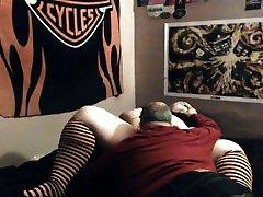 Random old guy licking pussy sexy BBW