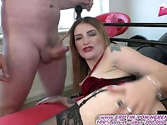 German anal creampie swinger sexparty with cum inside ass