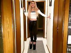 German Girl Extreme High Heels