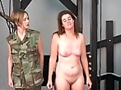 Sexy ass chicks in sensational amateur lesbo show