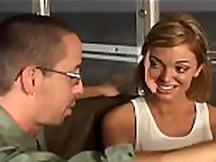 Sweltering amateur gives hawt nurse and doctors bf xxx blowjob and gets screwed