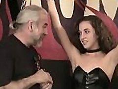Big boobs babe hard screwed in bizarre bondage bangross mom son scenes