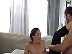 Pussylicked stepmom drilled on all fours