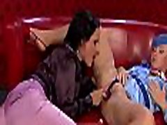Fine lesbo chick gets toes licked and shaved cunt fingered