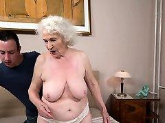 Fat sarah bower grandma fucked