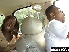 Black seachusa bbw hd Kelly Rayne smeared with cum after anal