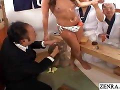 JAV reverse xxx nose kissing habshi porn com sushi restaurant game show Subtitles