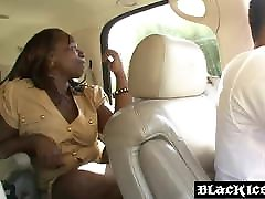 Black solo anal public Kelly Rayne smeared with cum after anal