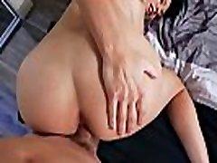 Ike Diezel fuck Reagan Foxx while she squeeze her big titties!