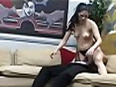 Pair provides facesitting porn scenes in home webcam video