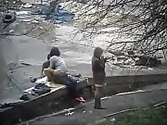 Friends caught fucking in public www.hardcoredate.us