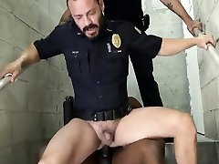 Gay black cop porn first time Fucking the white officer