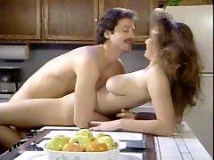 T. birthday sex hd in the kitchen