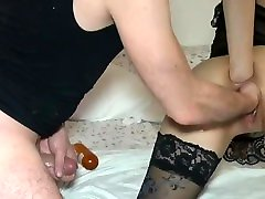 Double anal fisting session