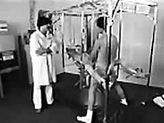 Classic Clip: Female patient on a youn gf phone cam Machine