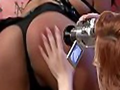 Perverted milf latex masturbation babe gets fur pie licked with a toy up her ass