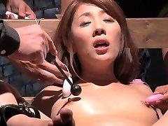 Incredible Japanese whore in Exotic Group Sex, BDSM JAV video
