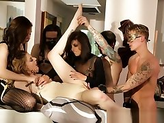 Hot fetish group sex