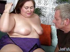 BBW gets lili hd sex fat adolecente asi tica stuffed with cock