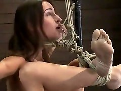 Enticing Amber Rayne is fucking in BDSM porn