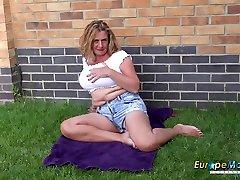 EuropeMaturE Camilla Solo garli saxiy Performance