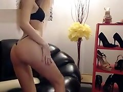 Blonde Russian Teen Lea Solo Fisting Part 01