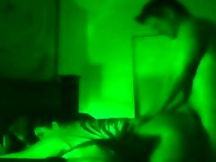 Painful Anal night vision with Army Soldier woken for sex
