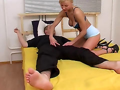 Russian busty leasbin and anal