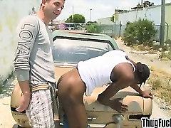 amanda logue sunny dae thug gets ass doggystyle fucked