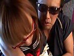 Tied up sweet horny gals schoolgirl, Miu Tamura got throatfucked very hard