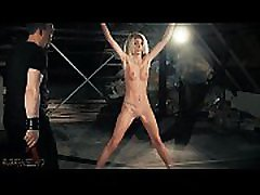 Intense bondage and paolina canadiana punishment for teen that wants her master to slap her and spank her teen ass harder and then shove his cock inside her while pleasing with his whip and candle wax she has a fetish for this and ask to fuck her harder