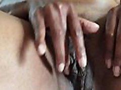 Ebony goddess solo mature pussy masturbation part 2