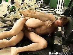 Extreme Hunk Latino Gays Bareback Sex