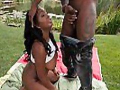 Ebony babes jugs spermed