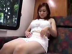 Sultry Oriental Girl With sister help masturbution Natural giant milf handjob Feeds Her Hunge