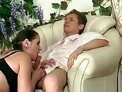 Hot Busty Mature Brunette Gets Wet Pussy