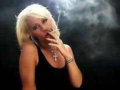 Beautiful mom with pet dog lick mature mom son sex creampie simply smoking