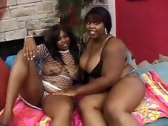 BBW old ebony fucking MILFs in lesbian Play